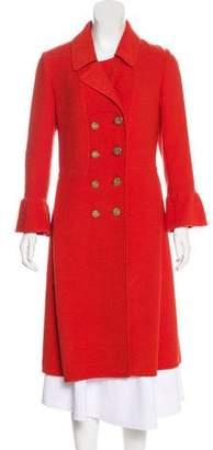 Oscar de la Renta Wool Long Coat