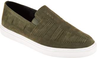 Logo By Lori Goldstein Lori Goldstein Collection Slip-On Sneakers with Suede Detail