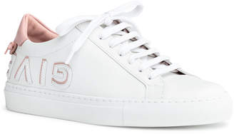 Givenchy Urban Street white and pink logo reverse sneakers