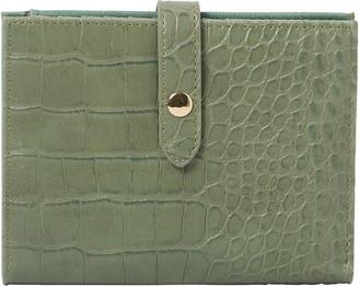 Urban Originals Peace Croc Embossed Vegan Leather Wallet