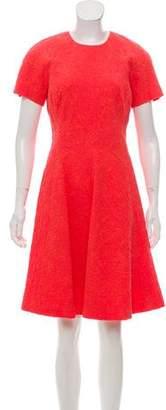 Lela Rose Textured Shift Dress