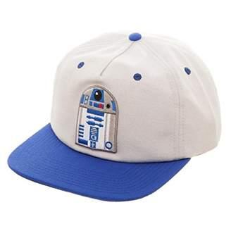 Bioworld Star Wars R2-D2 Oxford 5 Panel Slouch Snapback 860b70bc9007