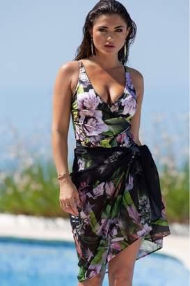 Pour Moi? Womens Pour Moi Orchid Luxe Sarong - Green