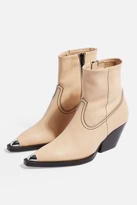 Topshop MARIO Western Boots