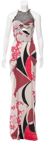 Emilio PucciEmilio Pucci Silk Cutout Dress