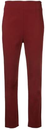 Tome high-waist fitted trousers