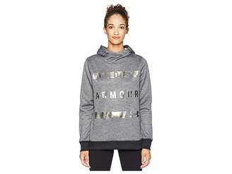 Under Armour Synthetic Fleece Pullover Wordmark Women's Clothing