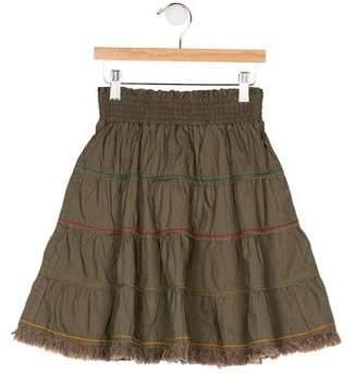 Catimini Girls' Flared Knee-Length Skirt w/ Tags
