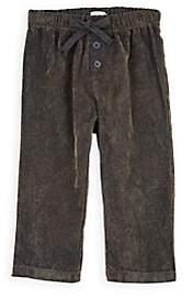 Il Gufo Kids' Herringbone-Weave Corduroy Pants - Brown