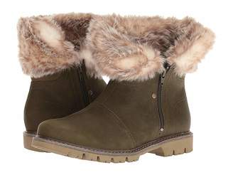 Caterpillar Casual Flurry Fur Waterproof Women's Lace-up Boots
