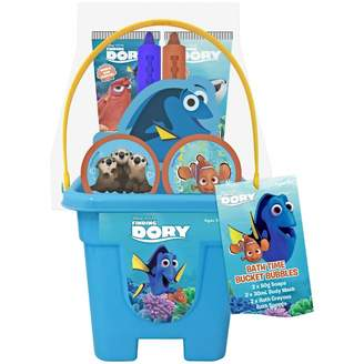 Disney Finding Dory Bath Time Bucket Bubbles Play Set 8 pack