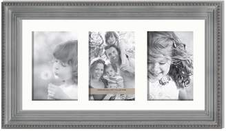 """Fashion Gallery Collection 3-Opening 4"""" x 6"""" Beaded Collage Frame"""