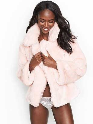 Victoria's Secret Victorias Secret Faux-fur Coat