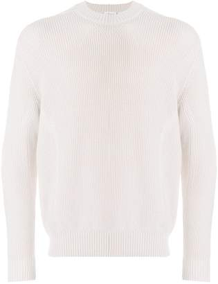 Brioni ribbed detail sweater