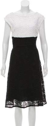 Christian Dior Guipure Lace Midi Dress w/ Tags