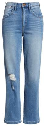 Wrangler Heritage Fit Slim Straight Leg Jeans