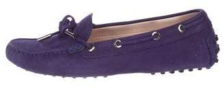 Tod's Nubuck Driving Loafers