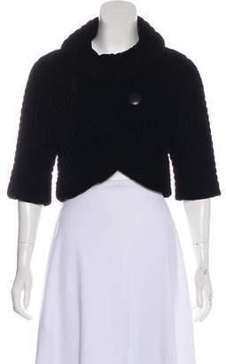 Smythe Velvet Quilted Jacket