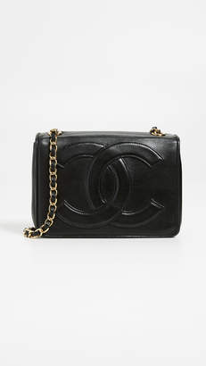 Chanel What Goes Around Comes Around Black Flap Mini Bag
