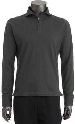 Shirts u0026 Tie 【Du0027URBAN BLACK】スイスコットン&ウール 長袖ポロシャツ