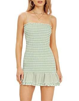 MinkPink Limonada Gingham Dress
