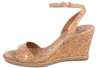 Tory Burch Cork Sandal Wedges