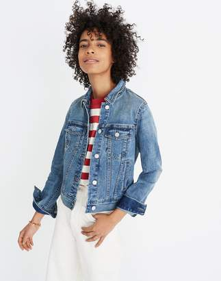 Madewell The Shrunken Stretch Jean Jacket