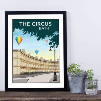 Tabitha Mary The Circus, Bath, Somerset Print