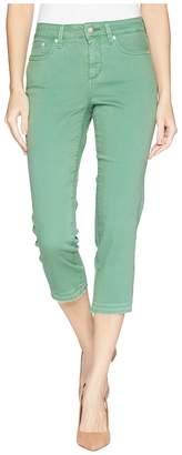 NYDJ Capris w/ Released Hem in Cactus United States Women's Jeans