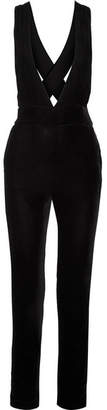 3x1 Ella Velvet Jumpsuit - Black