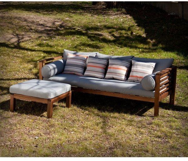 Harper Blvd Drewer Outdoor Sofa