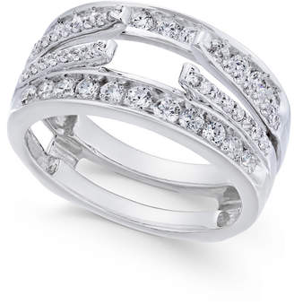 Macy's Diamond Enhancer Ring Guard (1 ct. t.w.) in 14k White Gold