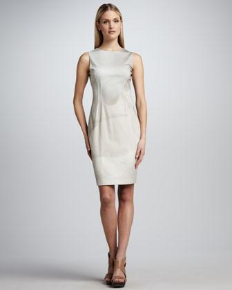 Elie Tahari Emory Sleeveless Shaded Sheath Dress