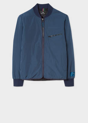 Paul Smith Men's Navy Quilted 2-In-1 Bomber Jacket Liner