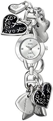 XOXO Women's XO7030 Dial -tone Heart Charms Watch
