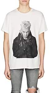 Amiri Men's Graphic Cotton T-Shirt - White