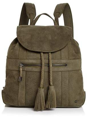 Halston Jerry Medium Nubuck Leather Backpack