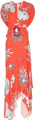 Silvia Tcherassi Josephine floral print maxi-dress