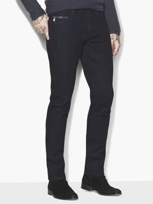 John Varvatos Chelsea Zip Pocket Jean