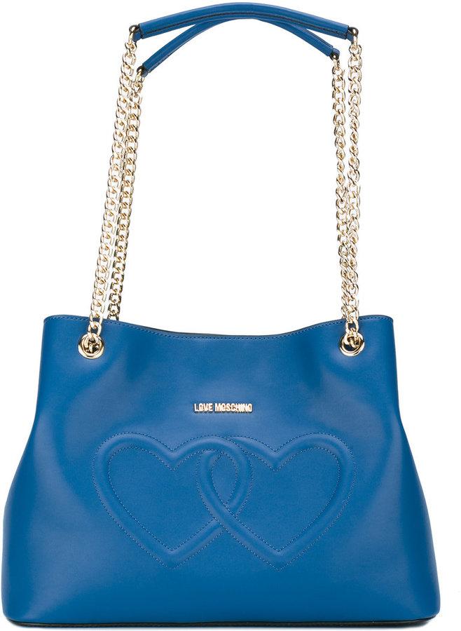 Love MoschinoLove Moschino heart shoulder bag