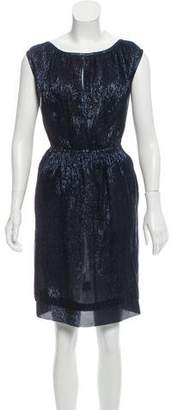Marc Jacobs Sleeveless Metallic Dress