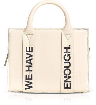 Corto Moltedo Costanzita Leather We Have More Than Enough Tote Bag