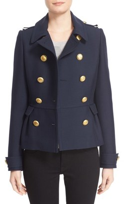 Women's Burberry 'Drumfield' Twill Coat $995 thestylecure.com