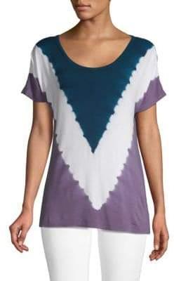 Nanette Lepore Tie-Dyed Short-Sleeve Tee