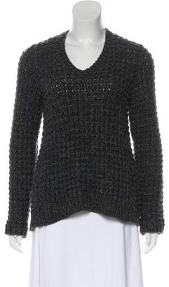 Brunello Cucinelli High-Low Cashmere Sweater