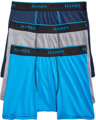 Hanes Little & Big Boys 3-Pk. Mesh Boxer Briefs