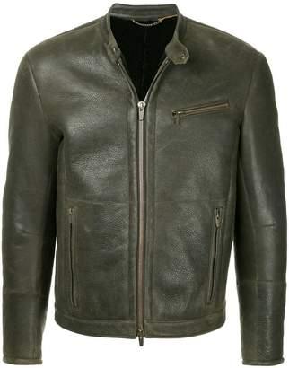 Ajmone band collar jacket