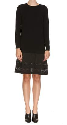 Moschino Lace Bottom Dress