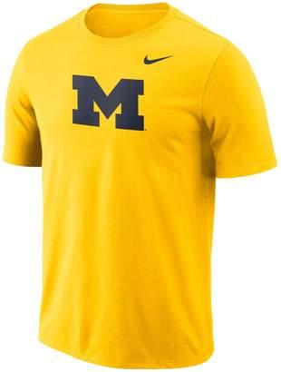 Nike Men's Michigan Wolverines Logo Tee