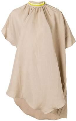 Aalto adjustable neck dress